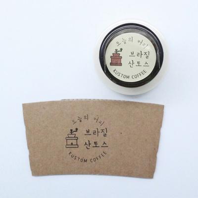 [주문제작] S045 의류겸용 원형도장