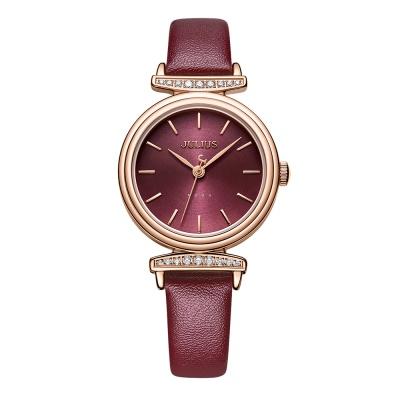 [쥴리어스공식] JA-1031 여성시계 가죽시계