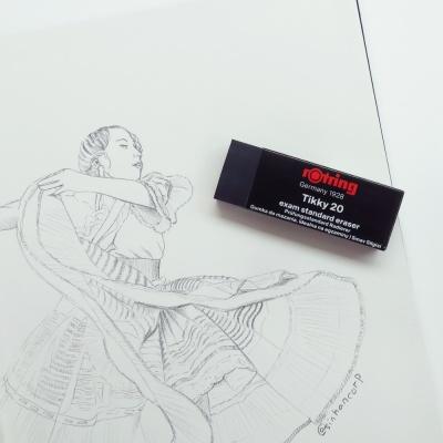 로트링 티키 지우개 티키20 / 티키30 1갑