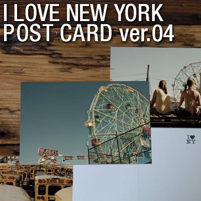 I LOVE NEW YORK - Post card ver.04(7종set)
