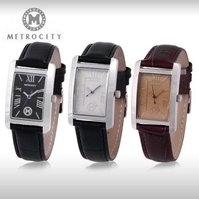 [METROCITY]메트로시티 남성/여성 손목시계  백화점 판매상품/AS가능 MTS0738M/L