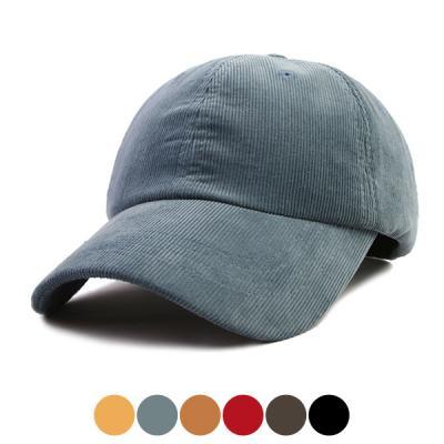 [디꾸보]골덴 단추 볼캡 모자 DCH-HN313