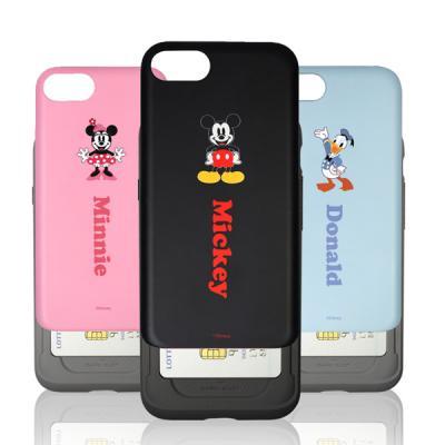 [Disney]디즈니 슬라이드 카드 범퍼 케이스-아이폰7/7플러스
