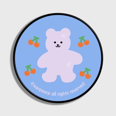 Four cherry bear-light blue(스마트톡)