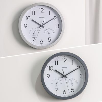 카파 IP248 온도습도표시 무소음 인테리어벽시계