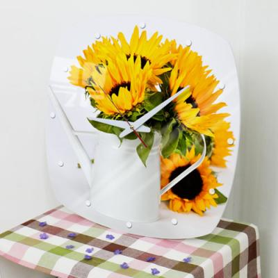 ga022-아크릴시계_풍수해바라기꽃병