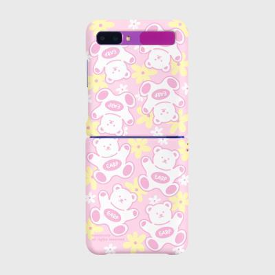 FLOWER BABA-PINK/YELLOW(Z플립-하드)