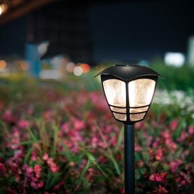 LED 가든램프 / 정원등 / 태양광충전 LED램프 LCER171