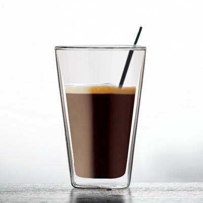 [로하티]프레즈 이중유리컵 / 카페 아이스 주스잔