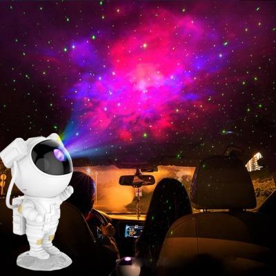 LED 오로라 조명 무드등 우주비행사 무지개 프로젝터