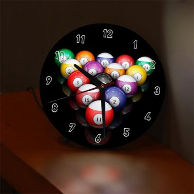ng186-LED시계액자25R_당구01