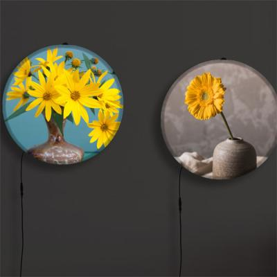 nh725-LED액자35R_꽃병속의노랑꽃