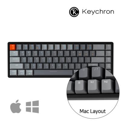 [키크론] K6 블루투스 무선 기계식 키보드 애플 미니