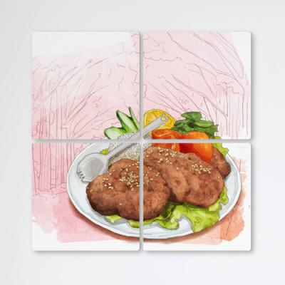 ib460-멀티액자_담양떡갈비