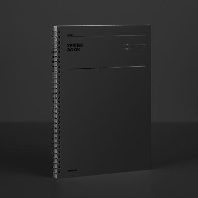 [컬러칩] 스프링북 룰드 - 블랙