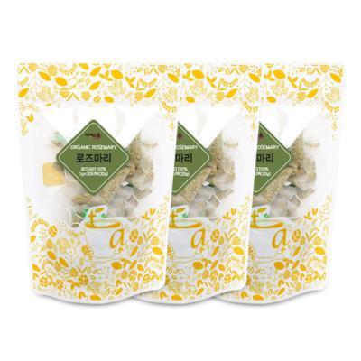 차예마을 허브차 유기농 로즈마리 30티백 x 3팩