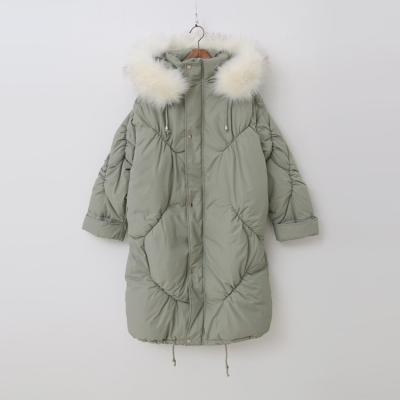 Hood Puffer Long Jumper - 웰론