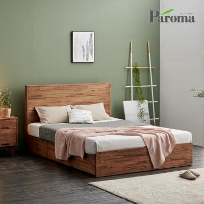 파로마 살로메 원목침대 수납형 Q GS016