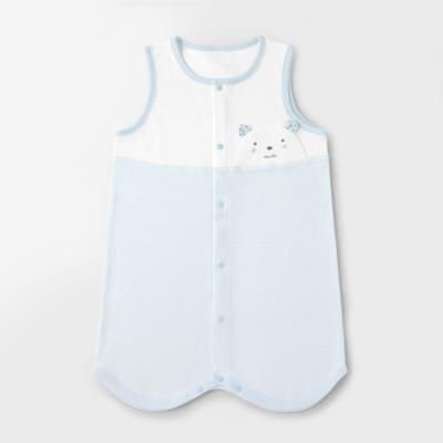 [메르베] M곰돌이 아기수면조끼_사계절용