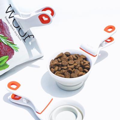 [베이컨] 클립 스쿱 - 사료 밀봉 스쿱 S