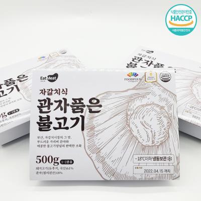 초심푸드 자갈치식관자불고기 500g x 3팩