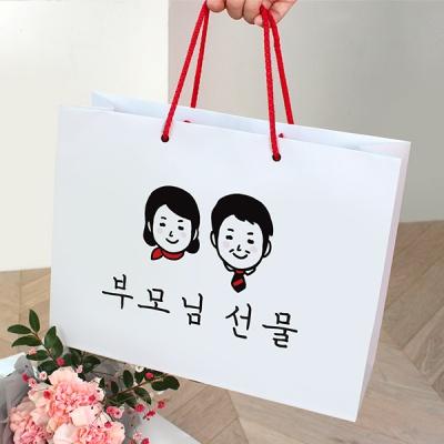 부모님 선물 쇼핑백
