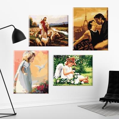 그림그리기 세트 캔버스 인물 40x50cm