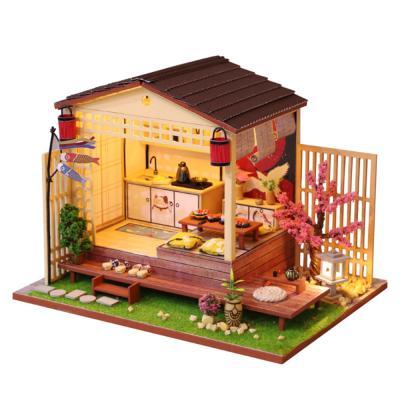 [adico]DIY 미니어처 하우스 - 벚꽃스시
