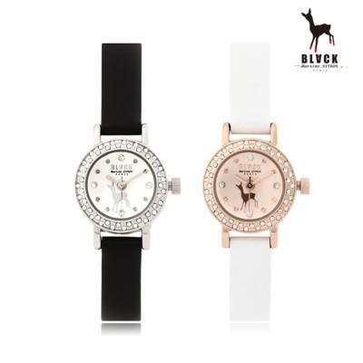 [블랙마틴싯봉] 여성 가죽 손목시계 BKL1538L