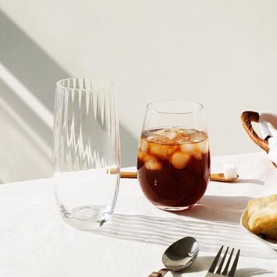 카페 글라스 8종 모음 - 아이스 커피 주스 물 유리 컵
