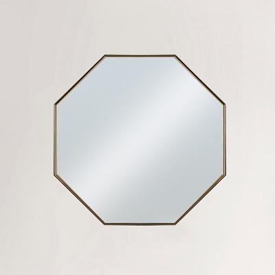 아슈 휘게 골드 화장대 거울 (착불)