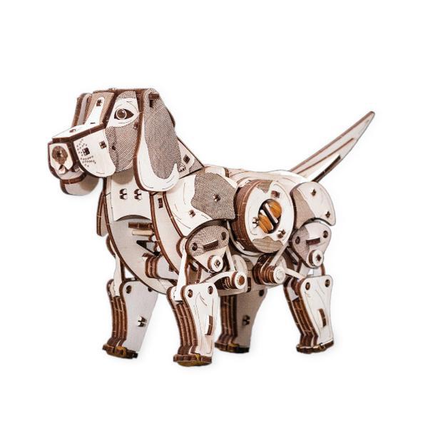 EWA 에코우드아트 3D DIY 입체 나무퍼즐 강아지