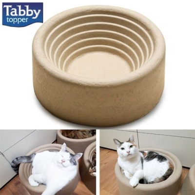 고양이 나선형 종이방석 고양이 하우스 놀이터 방석