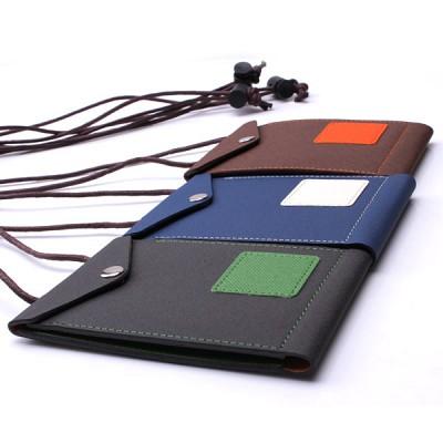 데코니 큐브목걸이 카드지갑(이니셜)