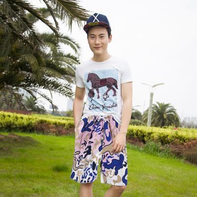 (와인앤쿡)실속형퍼플 beach wear (남성용)1P