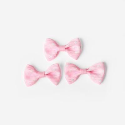 베이비 핑크 완성리본 미니 (10개)