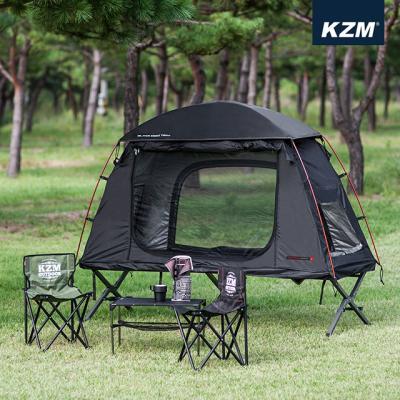 [카즈미] 블랙 코트 텐트 K8T3T016