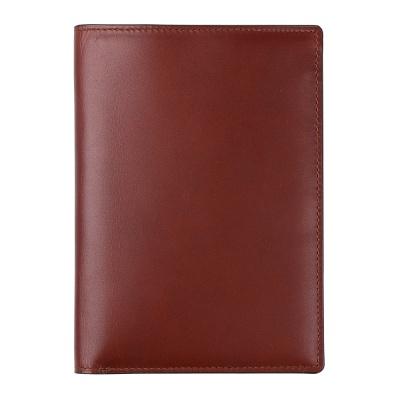 [천연소가죽] 여권케이스 지폐형 클래씨 브라운