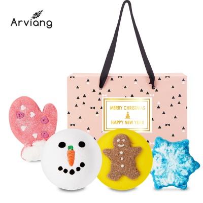 [아르비앙] 핑크 선물세트 4구-E /거품입욕제