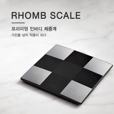 [rhomb] 롬브 스케일 프리미엄 스마트 인바디 체중계