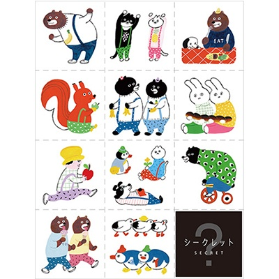 [킹짐] LARGE SIZE STICKER 스티커