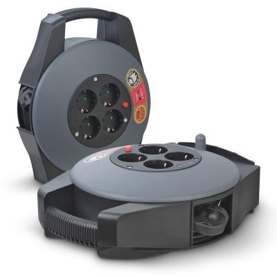 캠핑용 릴케이블 멀티탭 USB충전기 15미터 4구 GB15A