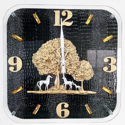 예쁜 엔틱 인테리어 황금나무 BK 벽시계 CH1546489