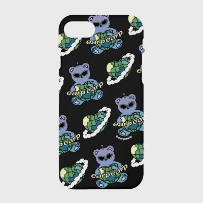 Space earth bear-black(color jelly)