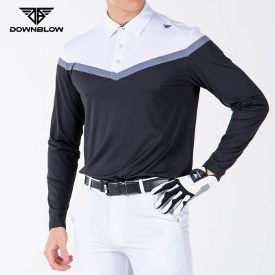 다운블로우-DB5001M남자골프긴팔티셔츠