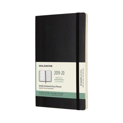 몰스킨 2020위클리(18M)/블랙 소프트 L