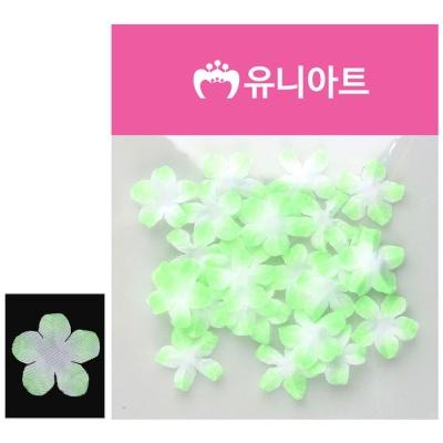 유니아트 싸리꽃 백색 연두 조화꽃 DIY 꾸미기 재료