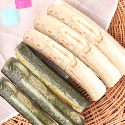 유기농 현미 가래떡 250gx2팩+쑥 가래떡 250gx2팩