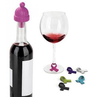 칠 와인 마개 & 장식물 7SET