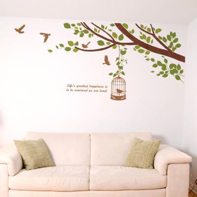 우드스티커- 봄봄 (컬러완제) 나뭇가지 W494 월데코